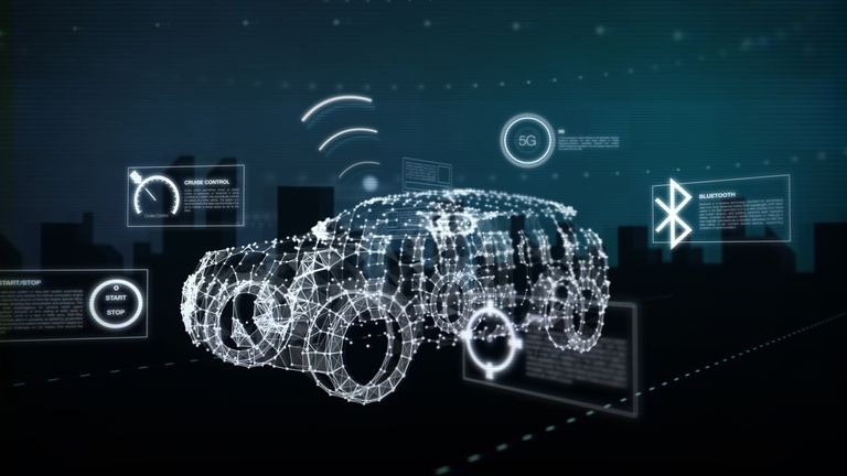 The new communications tech is crucial to the development of autonomous cars. Pic: University of Warwick