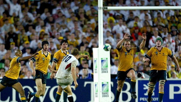Jonny Wilkinson's last-gasp heroics claimed the 2003 world cup for England