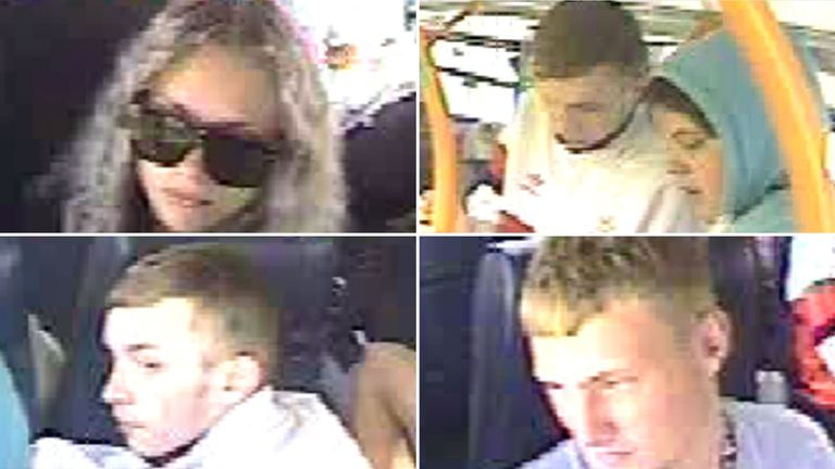 Police are looking for four people who may have witnessed the incident. Pic: Lincolnshire Police