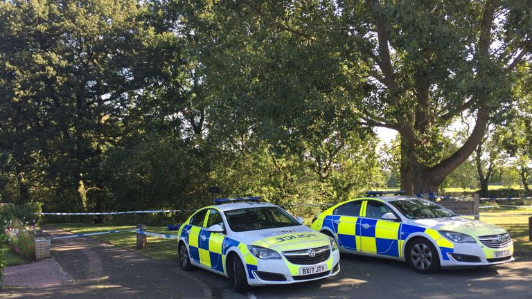 The body was found near Wigginton park in Tamworth