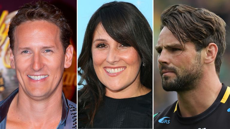 Brendan Cole, Ricki Lake and Ben Foden are taking part in X-Factor