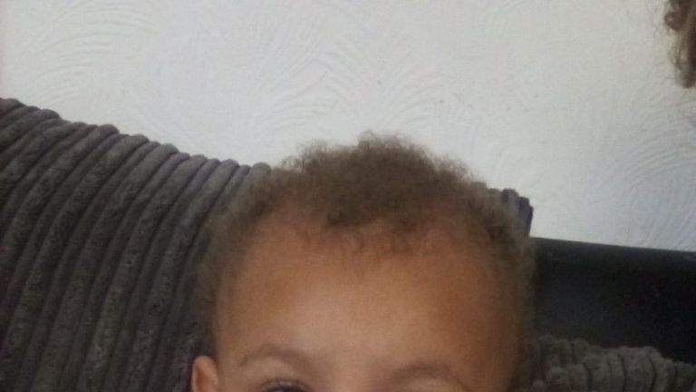 Zakari William Bennett-Eko was described as a 'happy and content baby'. Pic: Greater Manchester Police