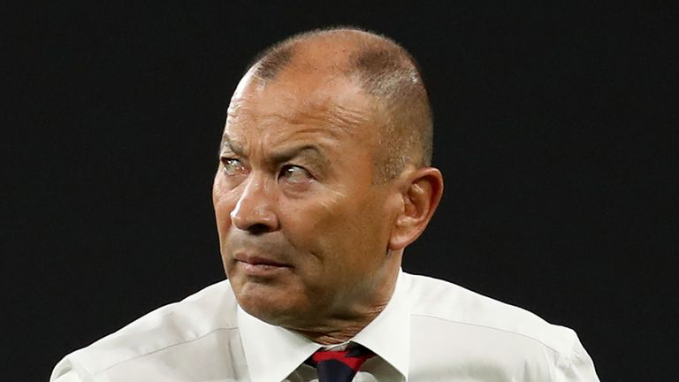 Eddie Jones says New Zealand can be 'got at' in the semi-final on Saturday