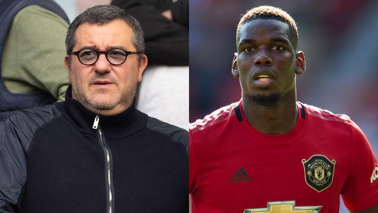 Mino Raiola has tried to find a move for his client Paul Pogba