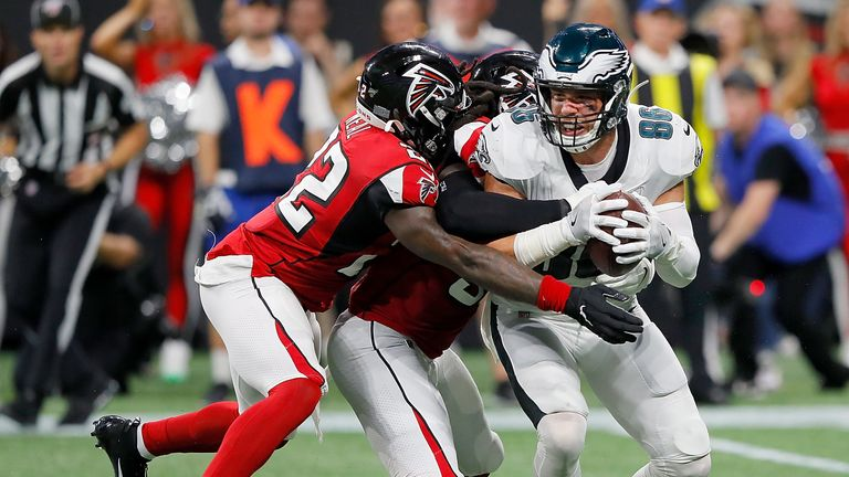 7:06                                            Highlights of the Philadelphia Eagles' clash with the Atlanta Falcons in Week 2 of the NFL