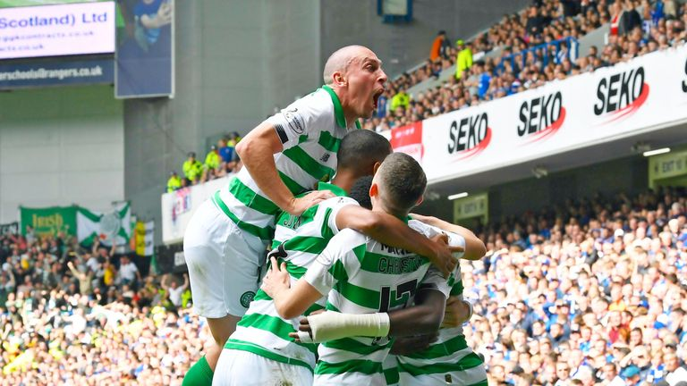 Goals from Odsonne Edouard and Jonny Hayes settled the first Old Firm clash of the season as Celtic beat Rangers 2-0 at Ibrox