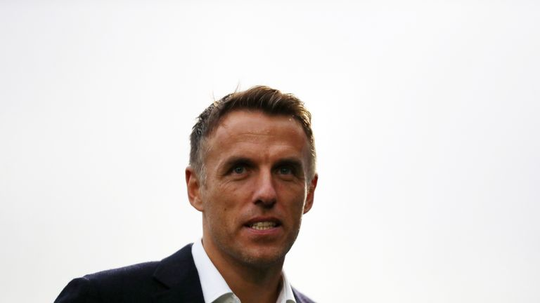 Phil Neville won't run the risk with his England squad against USA