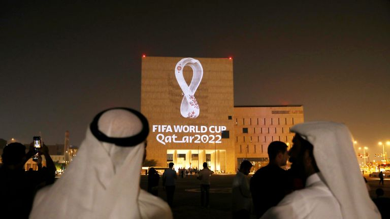 Qatar 2022 emblem unveiled in Doha