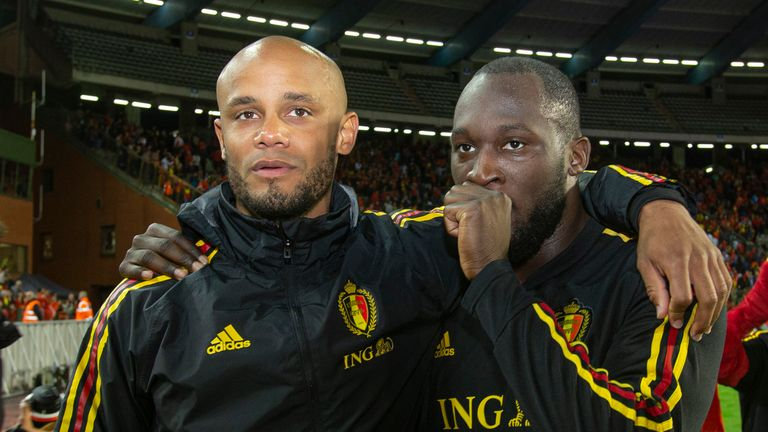 Vincent Kompany has been speaking on the racism his former Belgian teammate Romelu Lukaku has recently faced