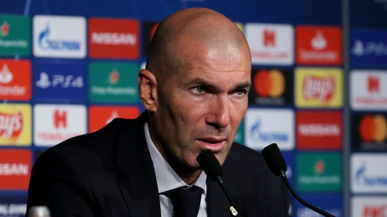 Zidane fumed at his team's 3-0 defeat to the Ligue 1 champions