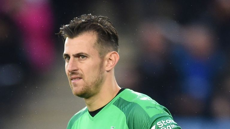 Newcastle goalkeeper Martin Dubravka admits their 5-0 loss at Leicester was 'embarrassing' and wants to repay the fans for their support