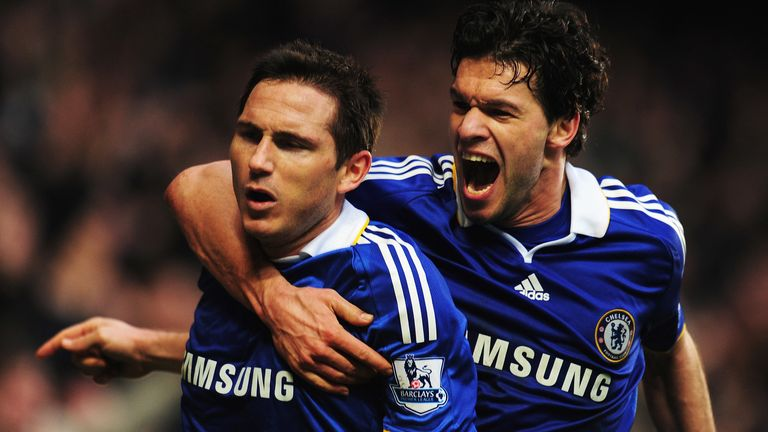 Michael Ballack believes his former Chelsea team-mate Frank Lampard was destined to remain in the sport following his playing career