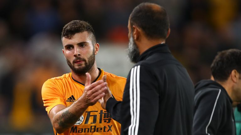 Patrick Cutrone is working hard to integrate himself into the first team at Wolves following his summer transfer from AC Milan, according to head coach Nuno Espirito Santo