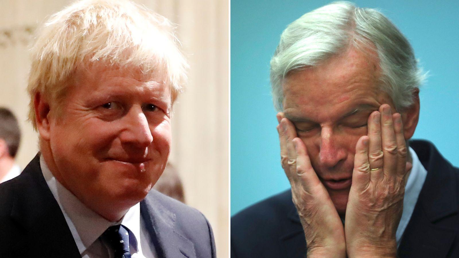 PM's pledge to get Brexit deal done 'unrealistic' - EU lead negotiatior