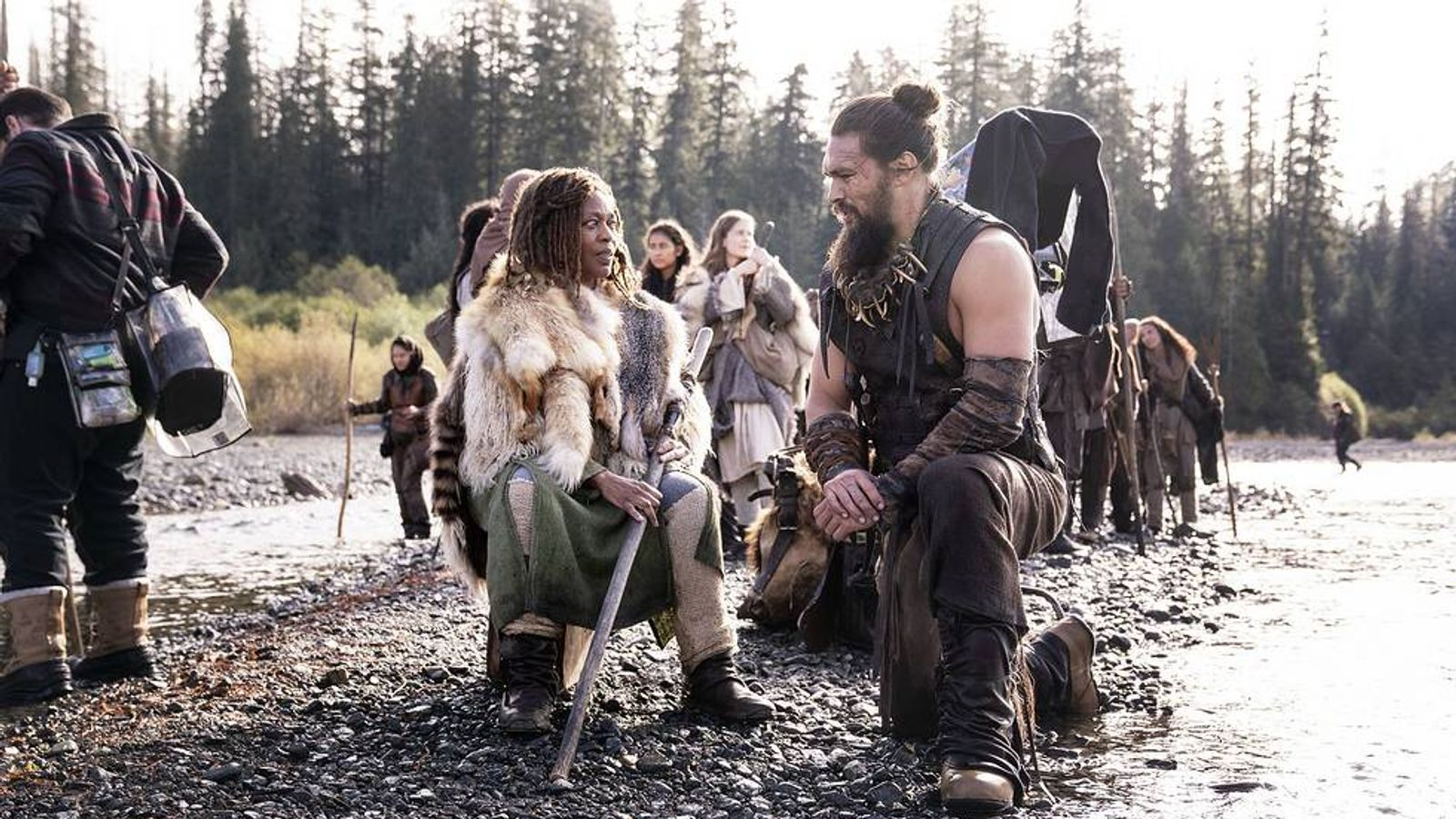Apple Tv Jason Momoa And Alfre Woodard Say New Show See Will