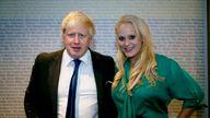 Boris Johnson visited Jennifer Arcuri's flat a 'handful of times'