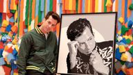 Musician and producer, Mark Ronson and The LEGO Group launch Rebuild The World, a campaign to help nurture the creative skills of the next generation on September 17, 2019 in Billund, Denmark
