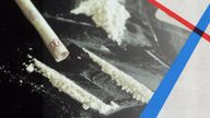 Scientists tested waste water for a compound produced when the body breaks down cocaine