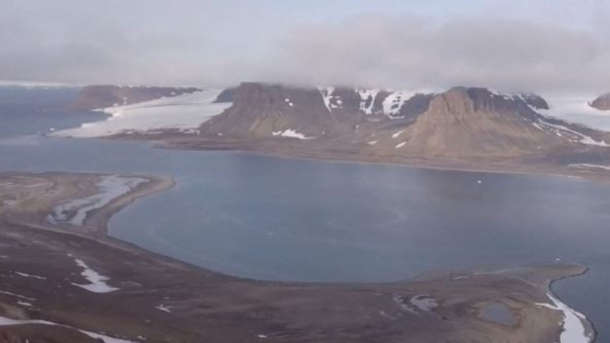 Arctic: Melting glaciers reveal five new islands