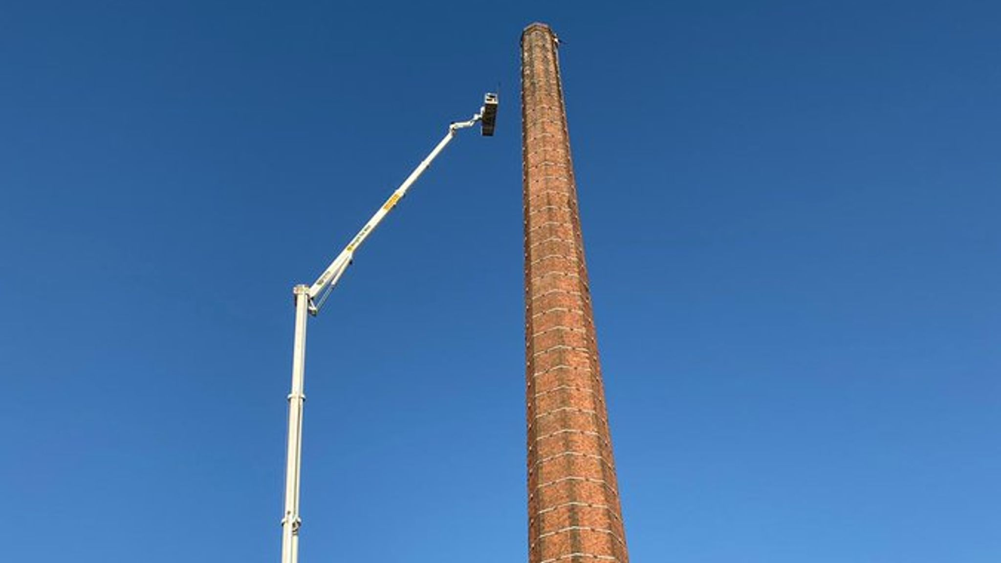 Man trapped at top of chimney in Carlisle has died, police confirm