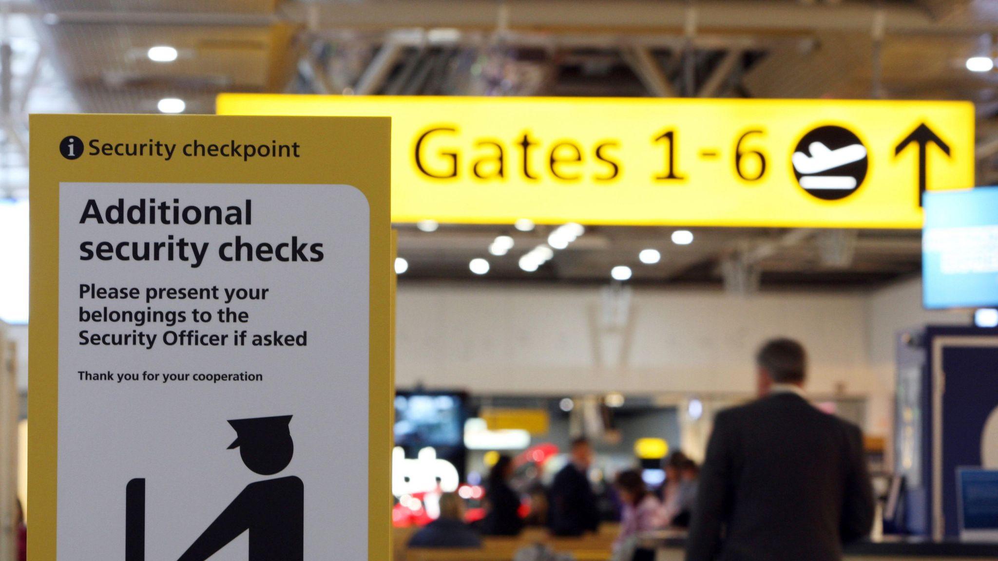 British terror suspect arrested at Heathrow after Turkey deportation