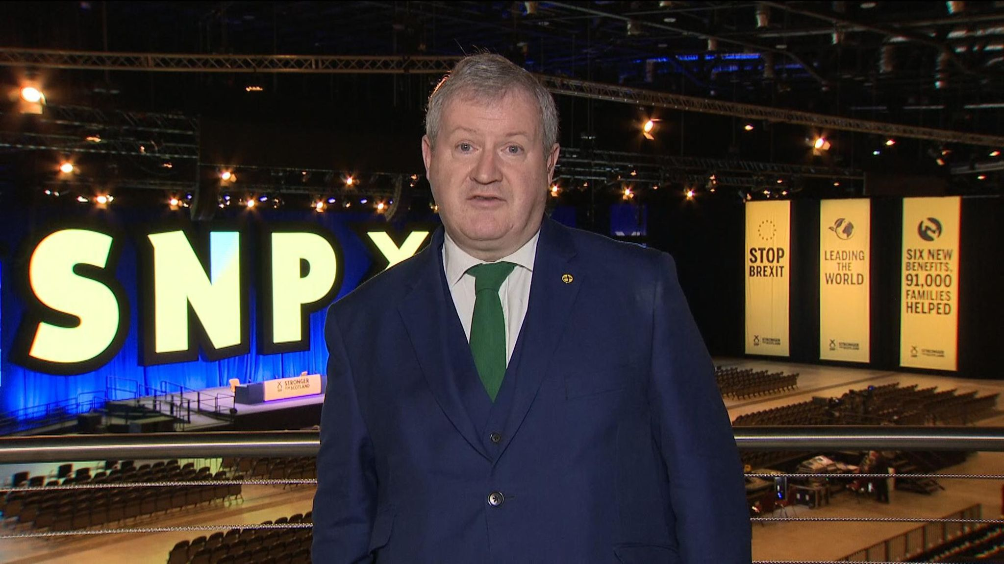 Ian Blackford: Hold second Scottish independence referendum in 2020