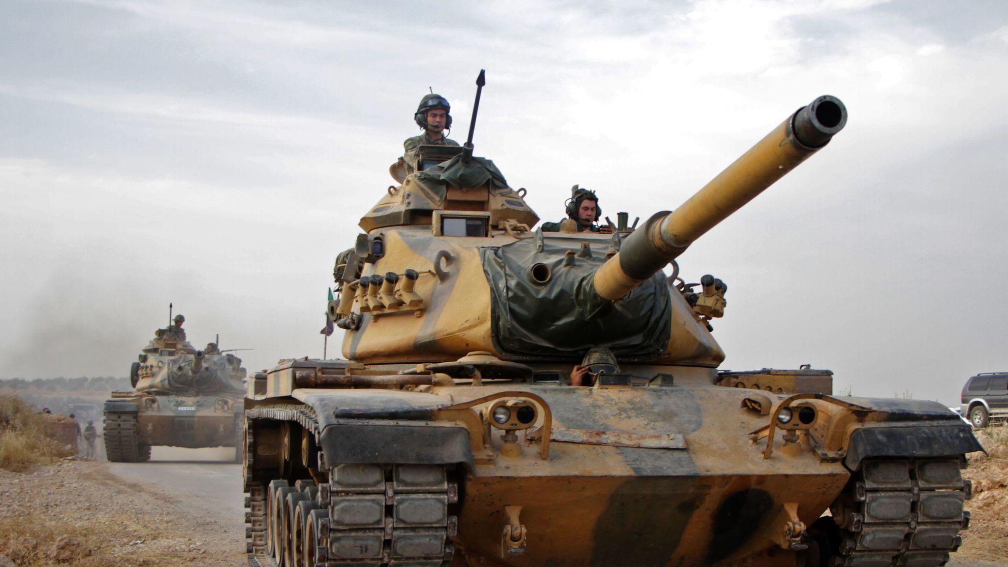 US demands Syria ceasefire as it announces sanctions against Turkey