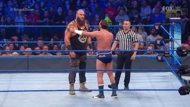 Gulak tries to help Strowman ahead of Fury match