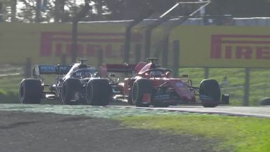 Vettel holds off Hamilton