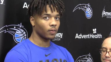 Fultz: Feels great to be back training