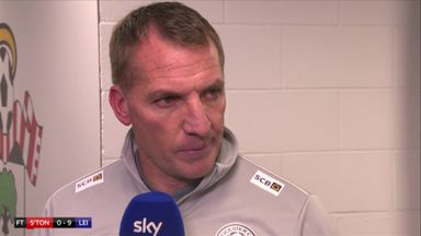 Rodgers proud of Foxes mentality