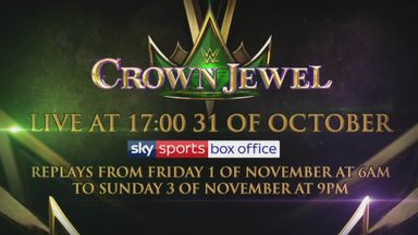 WWE Crown Jewel is coming