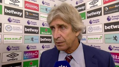 Pellegrini: Palace penalty 'unnecessary'