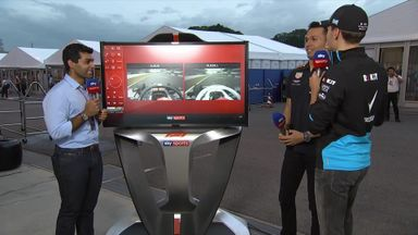 Albon vs Russell: SkyPad head-to-head