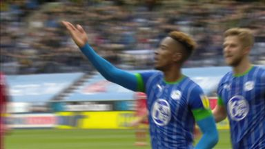 Lowe puts Wigan ahead