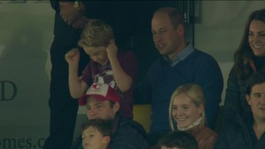 Prince George delight at Villa victory