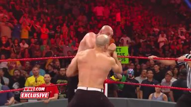 Tyson Fury knocks out Cesaro!