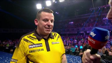 Chisnall: I'm back and playing well