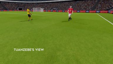 MNF: Auba's goal at Old Trafford in virtual reality!