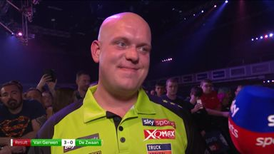 Van Gerwen: I'm proud of my performance
