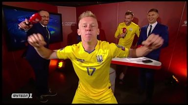 Zinchenko's wild Ukraine celebrations!