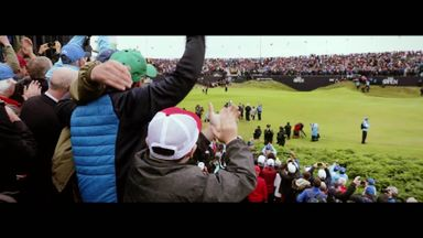 A day at The Open...
