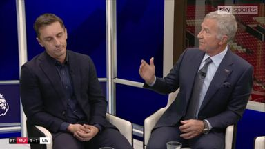 Nev and Souness' heated striker debate