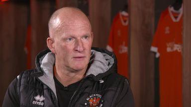 Grayson discusses Blackpool return