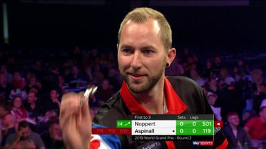 Noppert makes shocking start to match
