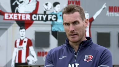 Taylor, Moxey talk all things Exeter