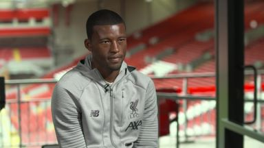 Wijnaldum: We're trying to enjoy it