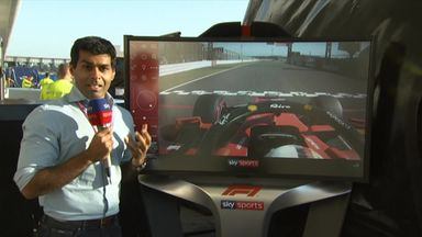 Vettel's jump start analysed