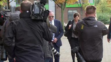 Gazza starts court trial