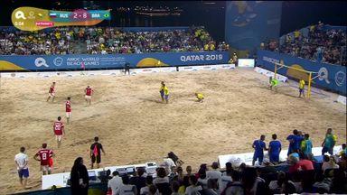 Brazil beach wonder goal